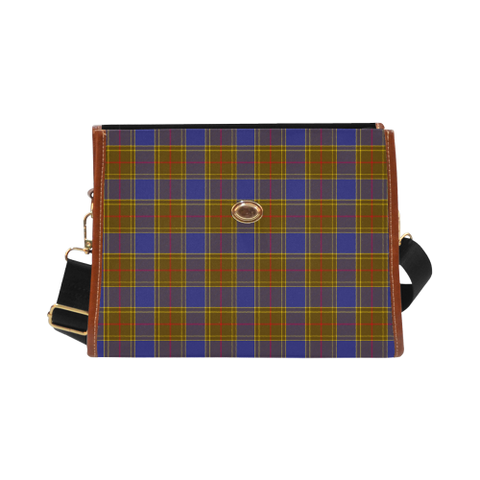 Balfour Modern Tartan Canvas Bag | Special Custom Design