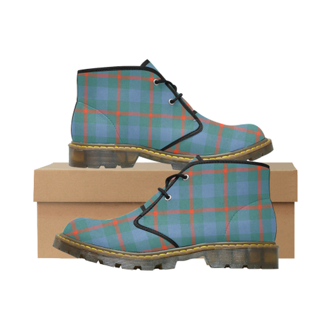Image of Agnew Ancient Tartan Chukka Boot | Over 500 Tartans | Special Custom Design | Love Scotland