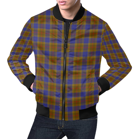 Image of Balfour Modern Tartan Bomber Jacket | Scottish Jacket | Scotland Clothing