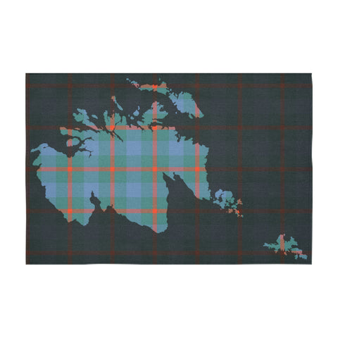 Agnew Ancient Tartan Map Tablecloth