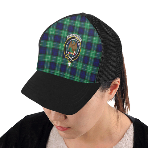 Abercrombie Tartan Trucker Hat All Over