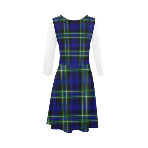 Arbuthnot Modern Tartan 3/4 Sleeve Sundress | Exclusive Over 500 Clans