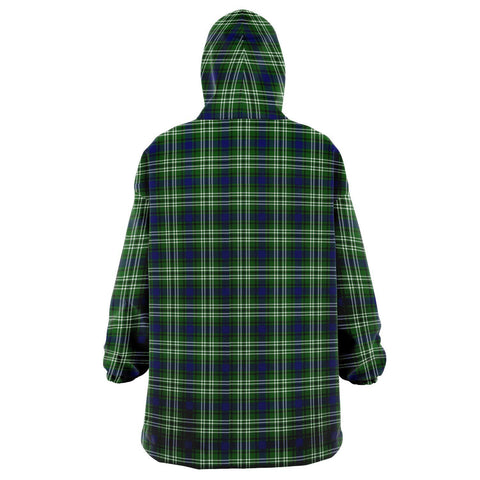 Tweedside District Snug Hoodie - Unisex Tartan Plaid Back