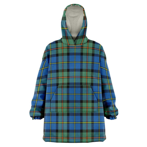MacLeod of Harris Ancient Snug Hoodie - Unisex Tartan Plaid Front