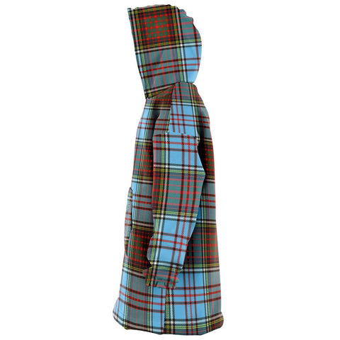 Anderson Ancient Snug Hoodie - Unisex Tartan Plaid Left