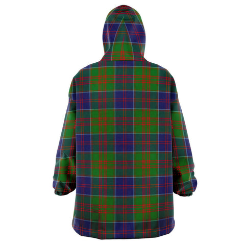 Stewart of Appin Hunting Modern Snug Hoodie - Unisex Tartan Plaid Back