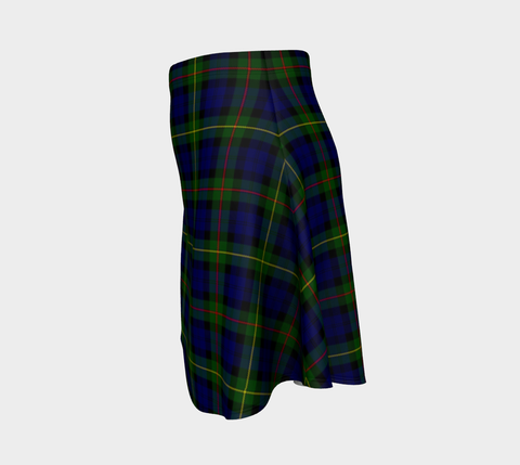 Image of Tartan Flared Skirt - MacEwen Modern