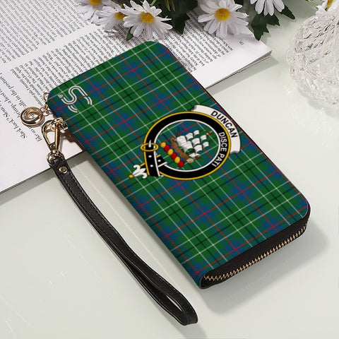 Duncan Ancient Crest Tartan Zipper Wallet™