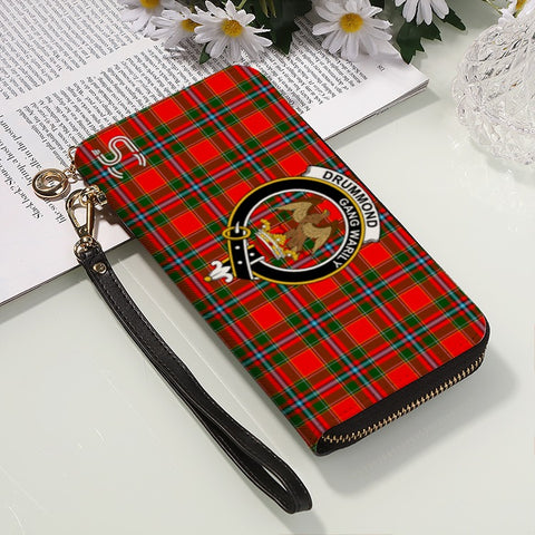 Drummond Of Perth Crest Tartan Zipper Wallet™
