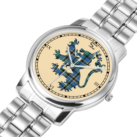 Image of Weir Ancient Tartan Watch Lion Scottish Vesion K7