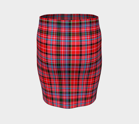 Tartan Fitted Skirt - Aberdeen District | Special Custom Design