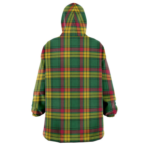 Image of MacMillan Old Ancient Snug Hoodie - Unisex Tartan Plaid Back