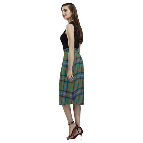 Image of Cochrane Ancient Tartan Aoede Crepe Skirt | Exclusive Over 500 Tartan