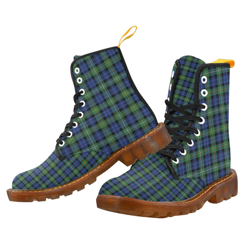 Campbell Argyll Ancient Martin Boot | Scotland Boots | Over 500 Tartans