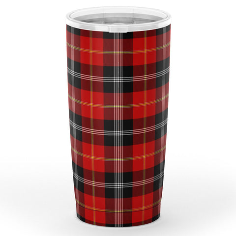 Marjoribanks Tartan Tumbler, Scottish Marjoribanks Plaid Insulated Tumbler - BN