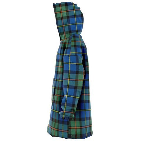 MacLeod of Harris Ancient Snug Hoodie - Unisex Tartan Plaid Left
