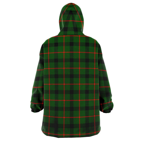 Kincaid Modern Snug Hoodie - Unisex Tartan Plaid Back
