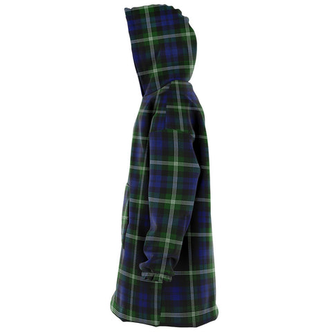 Image of Baillie Modern Snug Hoodie - Unisex Tartan Plaid Left