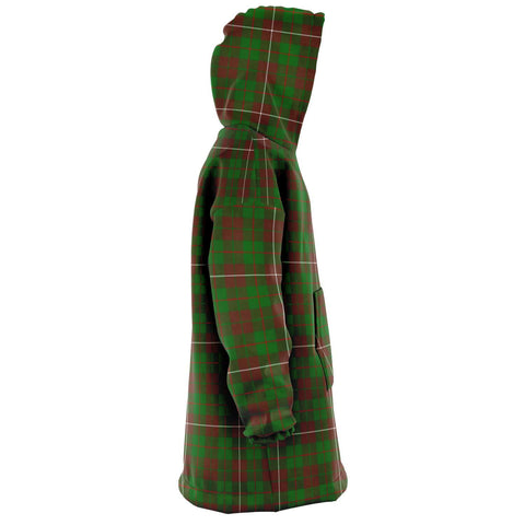 Image of MacKinnon Hunting Modern Snug Hoodie - Unisex Tartan Plaid Right