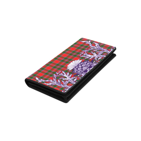 Spens Modern Tartan Wallet Women's Leather Wallet A91 | Over 500 Tartan