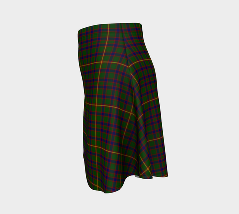 Image of Tartan Flared Skirt - Hall
