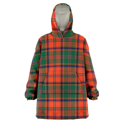 Stewart of Appin Ancient Snug Hoodie - Unisex Tartan Plaid Front