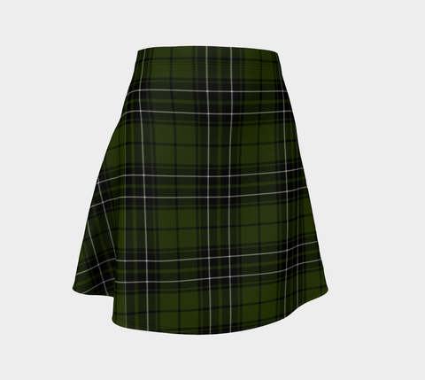 Tartan Flared Skirt - MacLean Hunting |Over 500 Tartans | Special Custom Design | Love Scotland