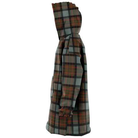 MacLaren Weathered Snug Hoodie - Unisex Tartan Plaid Left