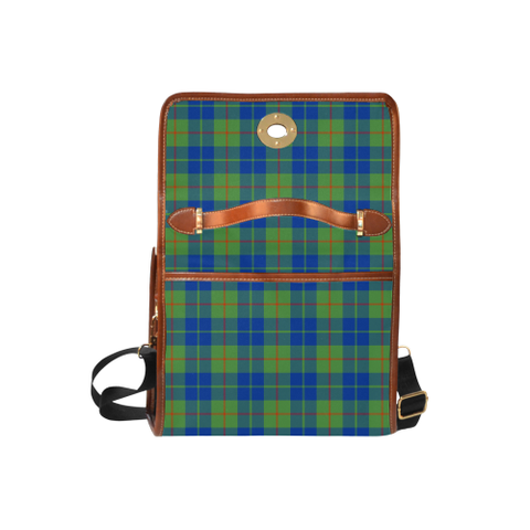 Barclay Hunting Ancient Tartan Canvas Bag | Special Custom Design