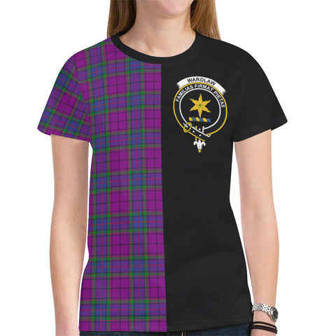 Image of Wardlaw Modern T-shirt Half In Me TH8