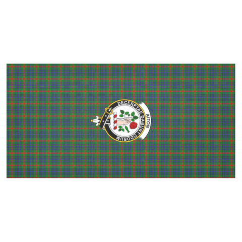 Image of Aiton Crest Tartan Tablecloth | Home Decor