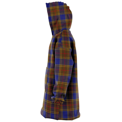 Image of Balfour Modern Snug Hoodie - Unisex Tartan Plaid Left