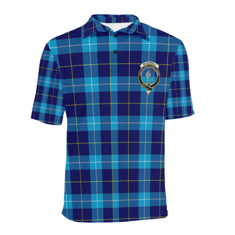 Mckerrell Tartan Clan Badge Polo Shirt HJ4