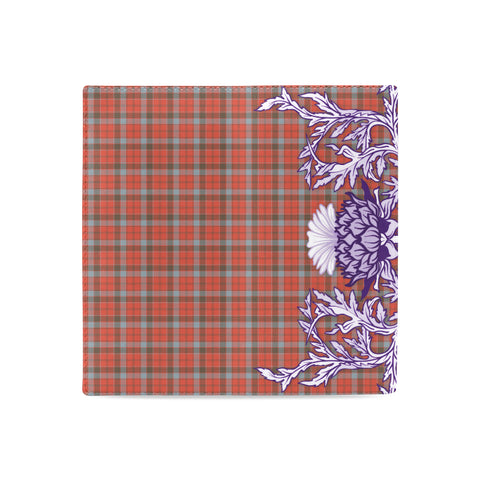 Image of Robertson Weathered Tartan Wallet Women's Leather Wallet A91 | Over 500 Tartan