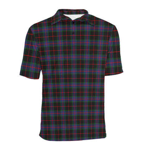 Image of Nairn Tartan Polo Shirt HJ4