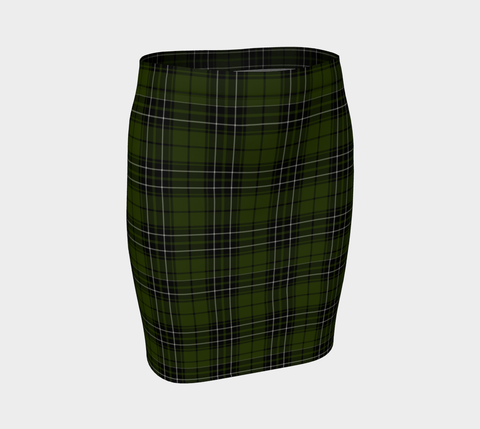 Tartan Fitted Skirt - MacLean Hunting | Special Custom Design