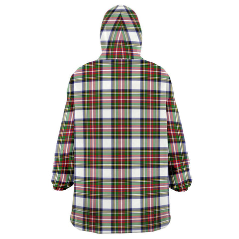 Stewart Dress Modern Snug Hoodie - Unisex Tartan Plaid Back