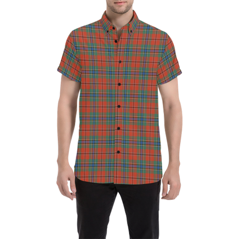 Image of Tartan Shirt - MacLean of Duart Ancient | Exclusive Over 500 Tartans | Special Custom Design