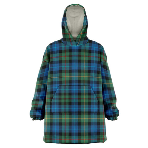 Smith Ancient Snug Hoodie - Unisex Tartan Plaid Front