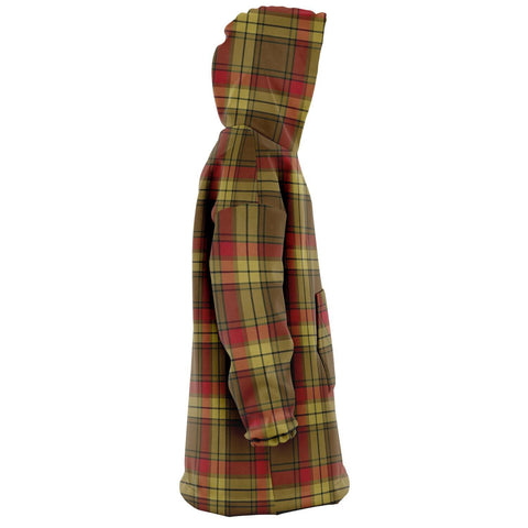 Image of MacMillan Old Weathered Snug Hoodie - Unisex Tartan Plaid Right