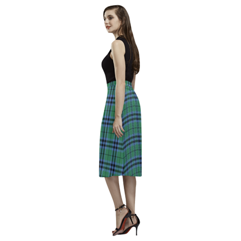 Keith Ancient Tartan Aoede Crepe Skirt | Exclusive Over 500 Tartan