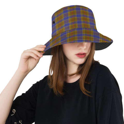 Balfour Modern Tartan Bucket Hat for Women and Men | Scottishclans.co