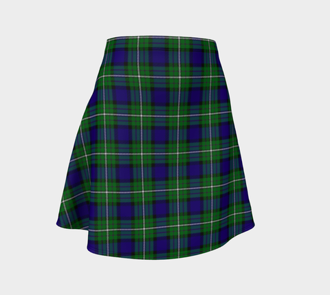 Image of Tartan Flared Skirt - Alexander