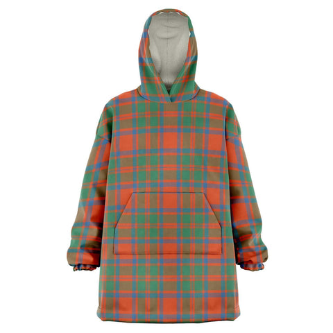 MacKintosh Ancient Snug Hoodie - Unisex Tartan Plaid Front