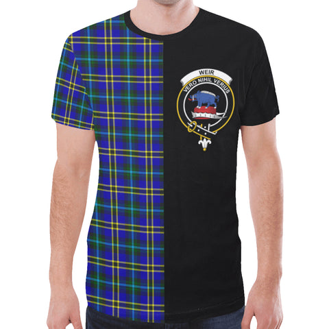 Weir Modern T-shirt Half In Me | scottishclans.co