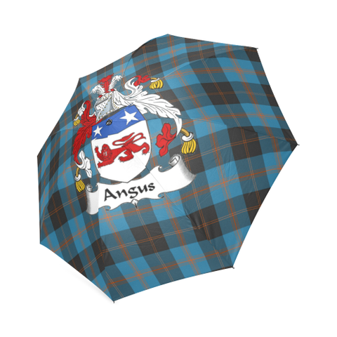 Angus Ancient Crest Tartan Umbrella TH8