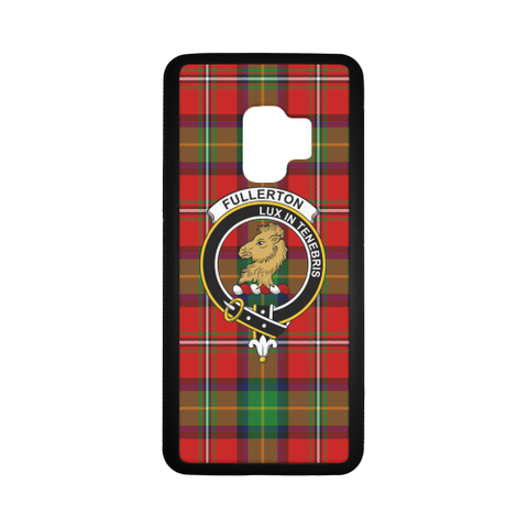 Fullerton Tartan Clan Badge Luminous Phone Case Samsung Galaxy S8 Plus