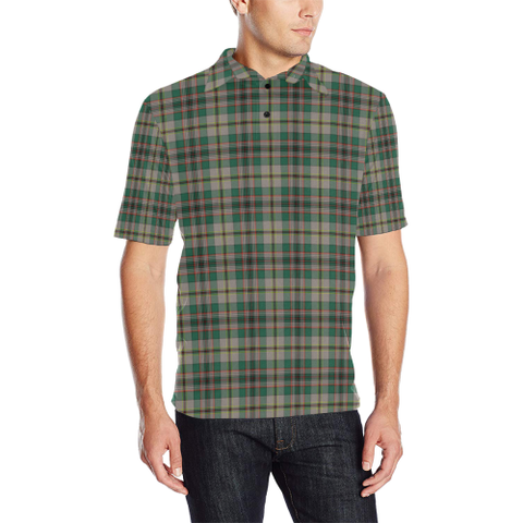 Craig Ancient  Tartan Polo Shirt