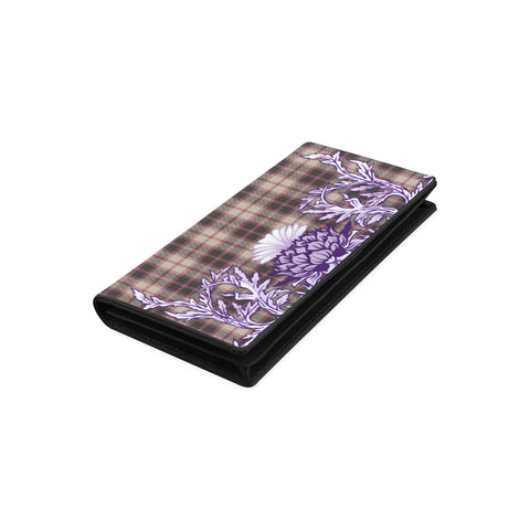 Image of MacPherson Hunting Ancient Tartan Wallet Women's Leather Wallet A91 | Over 500 Tartan