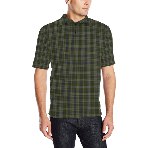 Davidson Tulloch Dress  Tartan Polo Shirt